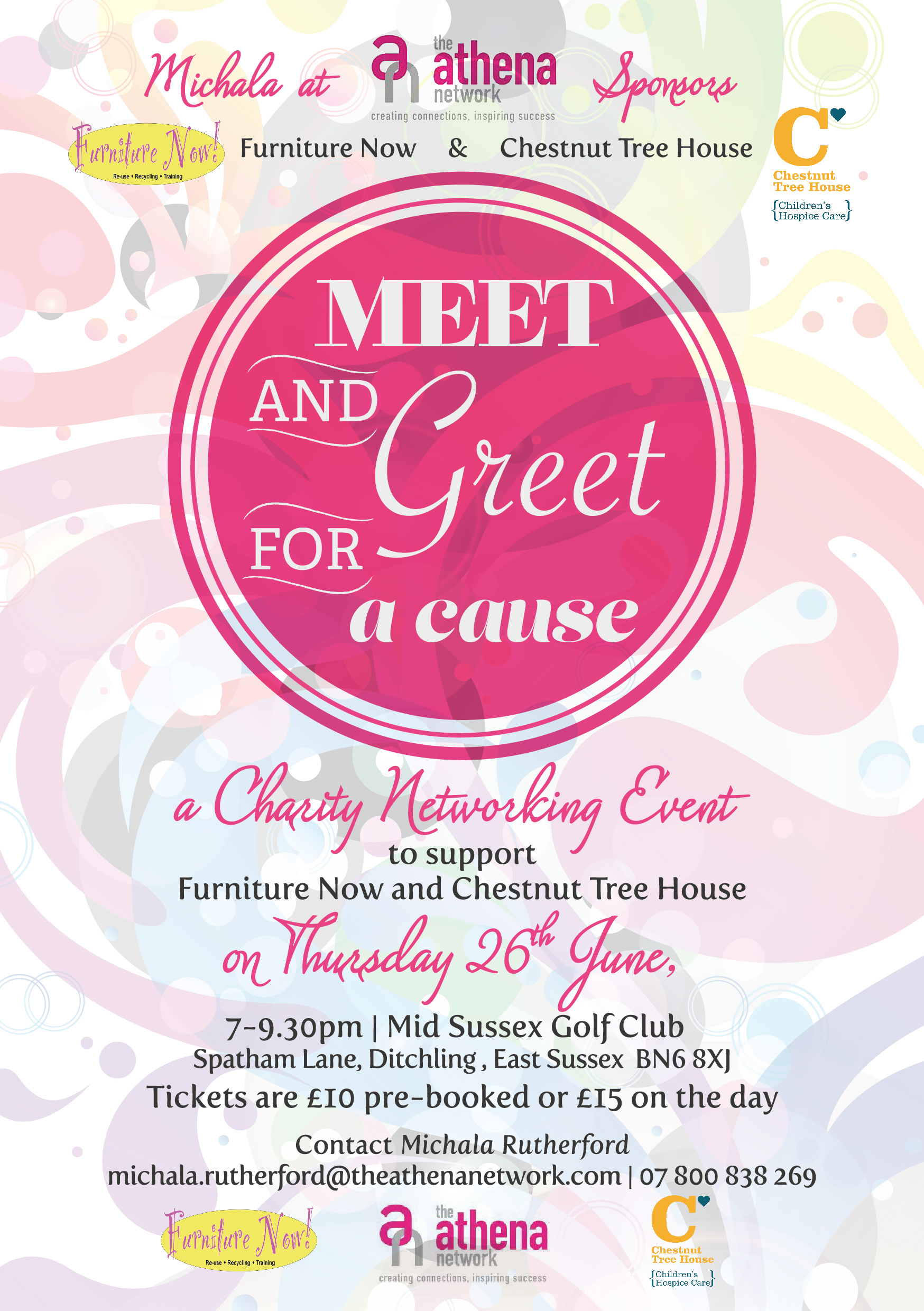 Charity Networking Event athenasussexse